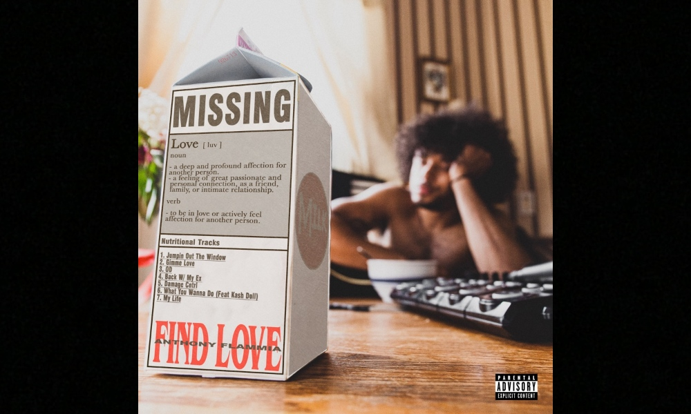 Anthony Flammia Releases New EP, 'Find Love'