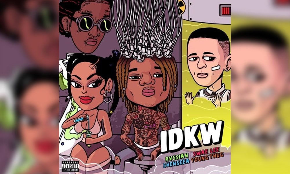 "Rvssian Taps Young Thug, Swae Lee and Shenseea For ""IDKW"" Single/Video"