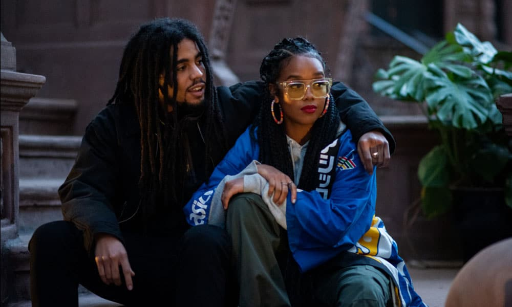 "Skip Marley and  H.E.R. Show Off Their Chemistry in ""Slow Down"" Video"