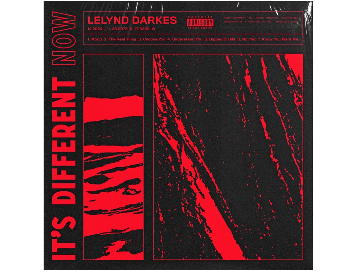 """Lelynd Darkes Releases """"It's Different Now"""" Album"""